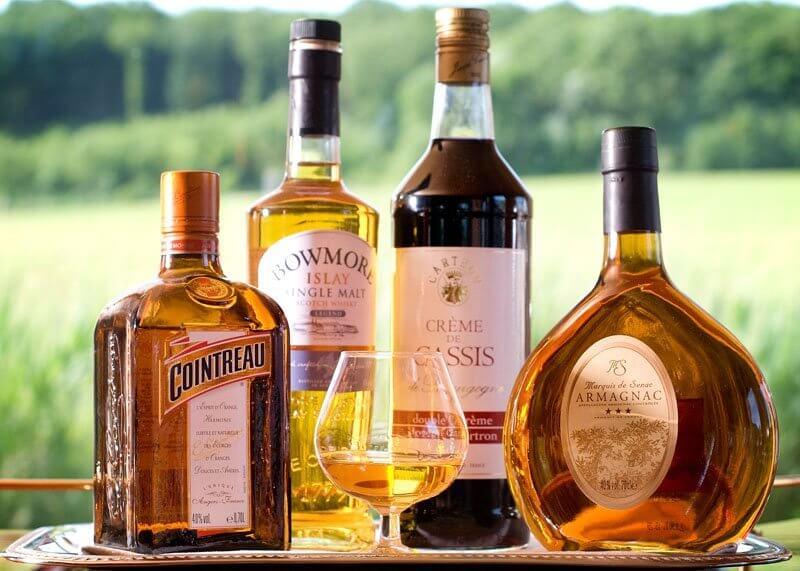 Bebidas como ideias de brindes