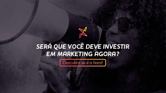 Investir em Marketing e ticket médio