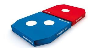 dominos pizza embalagem