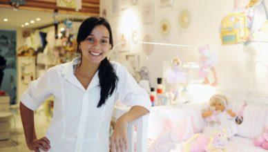 ideias para loja de bebes